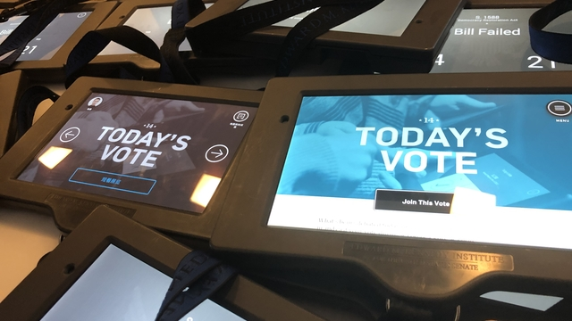 digital Today's Vote tablets
