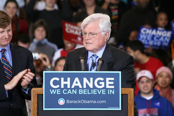 Sen. Kennedy endorses Barack Obama for President.
