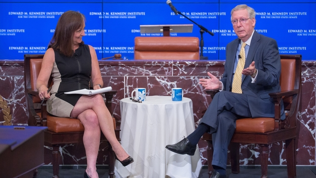 McConnell, Calmes Getting to the Point