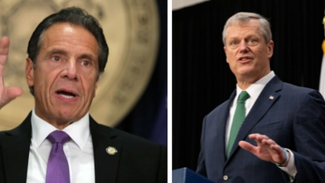 Governors Baker and Cuomo honored for coronavirus leadership by Kennedy Institute