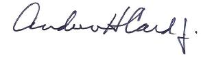 Andrew Card Signature