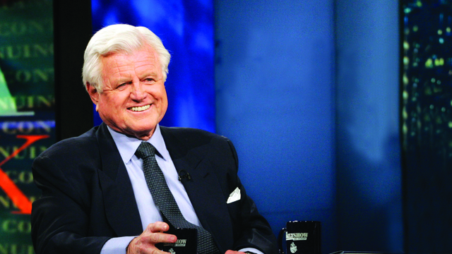Senator Ted Kennedy Daily Show _ AP Image 