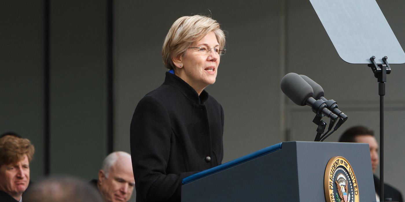 Senator Elizabeth Warren Carousel Image