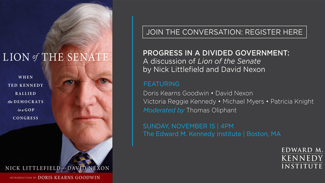 Two top domestic policy advisors to Senator Edward Kennedy offer an insider's view of several remarkable years when Kennedy fought to preserve the Democratic mission against  a Republican majority in both houses.