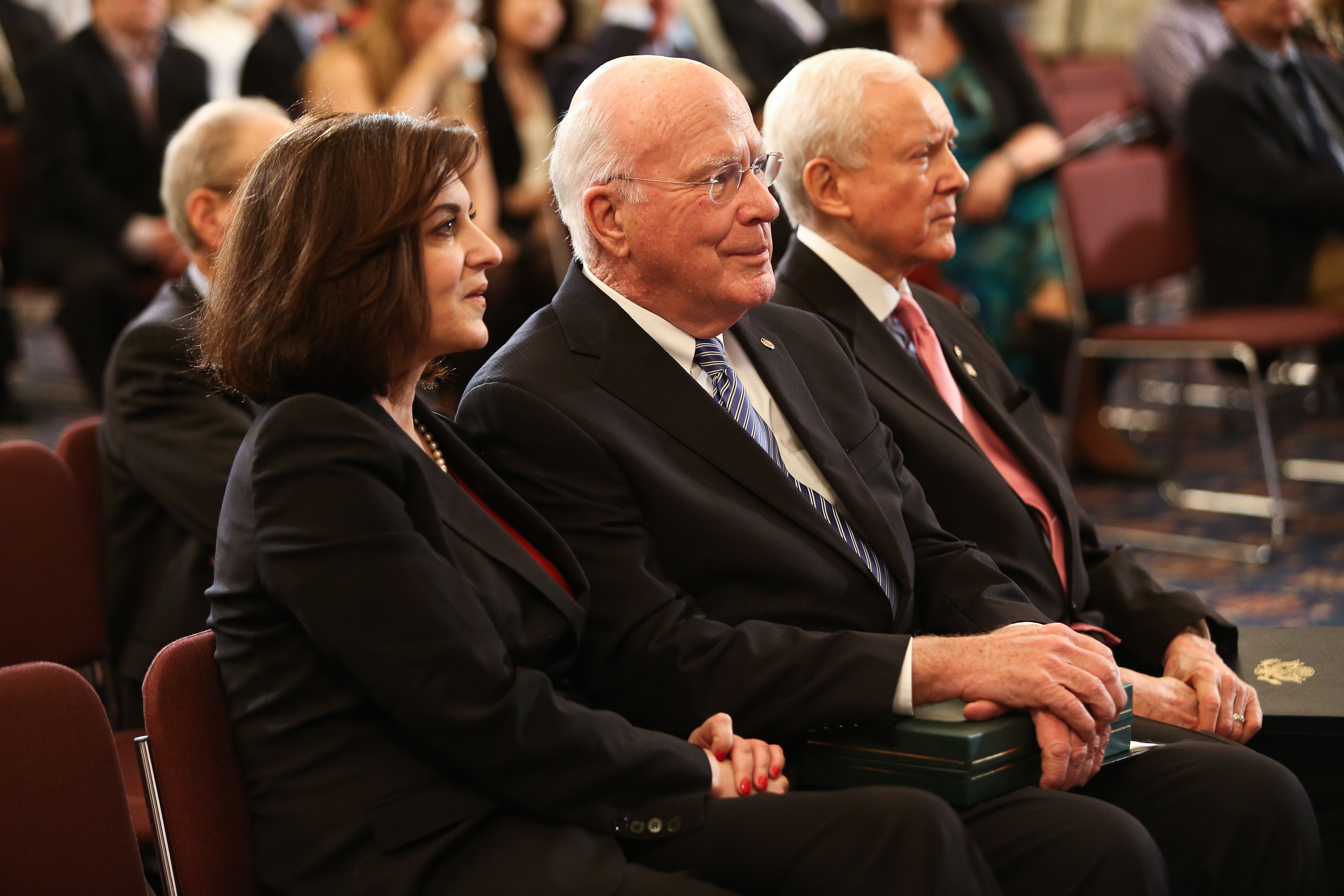 Senators Hatch and Leahy Supreme Court