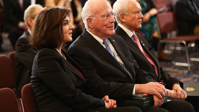 Senators Hatch and Leahy Supreme Court