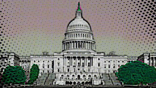 Capitol building for Super Powers Senate Game.