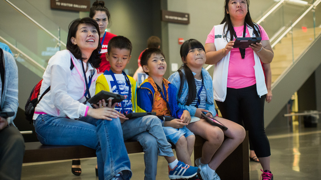kids, children, exhibits