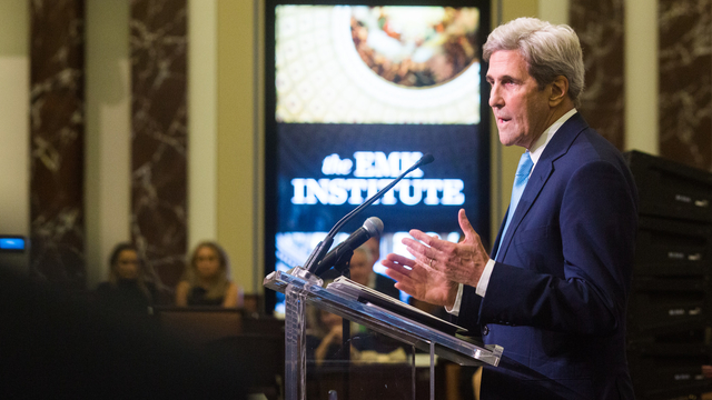 John Kerry at Annual Dinner