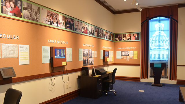 Photo of Senate Staff Office
