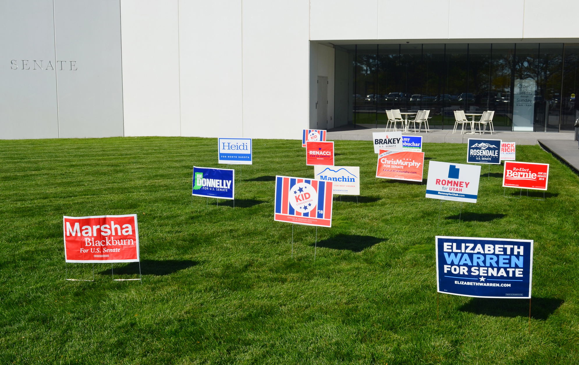 Campaign Lawn Signs